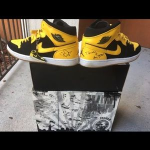 Wiz Khalifia & Mac Miller Jordan NEW LOVE RETRO 1